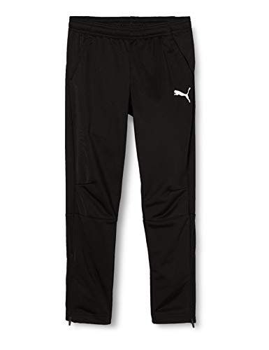 PUMA Kinder Liga Training Pants Jr Hose, schwarz(Puma Black-Puma White), 152