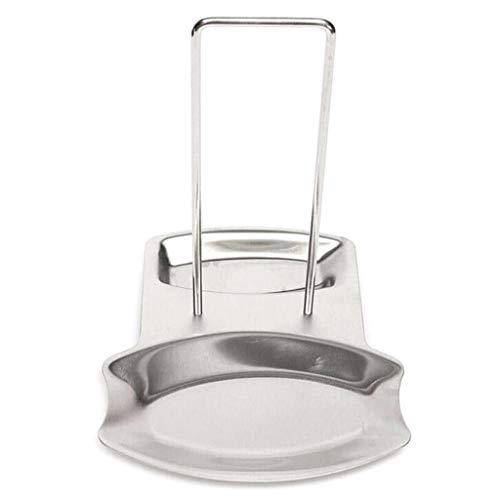 Marginf Support de cuillère en acier inoxydable pour couvercle de casserole, couvercle de poêle, organiseur de cuisine, accessoires de cuisine