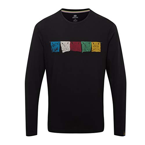 Sherpa Tarcho T-Shirt Manches Longues Homme, Black Modèle XL 2020 t Shirt Manches Longues