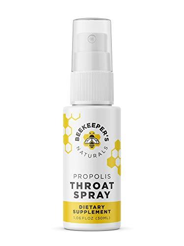 Bee Propolis Throat Spray by Beekeeper's Naturals | Premium 95% Bee Propolis...