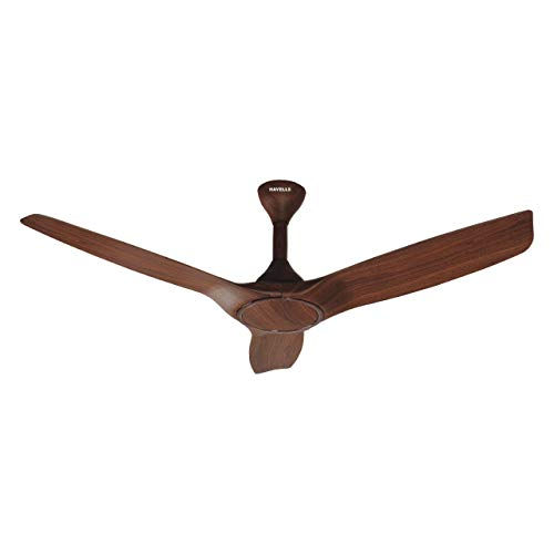 Havells Stealth Wood i 1250 mm Smart Ceiling Fan (Walnut)