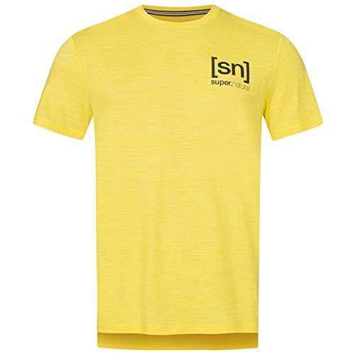 super.natural M Active Tee T-Shirt à Manches Courtes pour Homme XL Mélange Aurora.