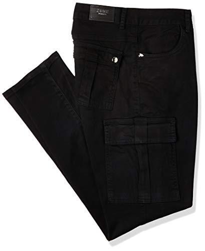 Jeans Skinny, Zune Denim, Feminino, Preto, 38