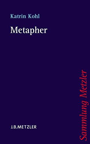 Metapher (Sammlung Metzler)