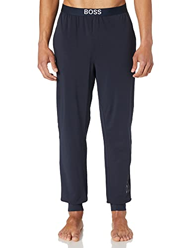 BOSS Identity Pants Pantaln de Pijama, Dark Blue406, S para Hombre