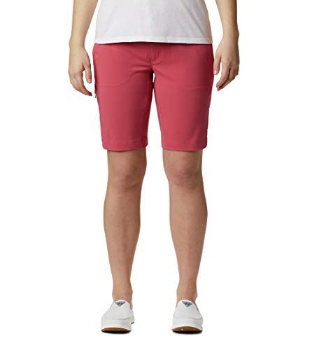 Columbia Saturday Trail Short Long pour Femme S Rouge Rose.