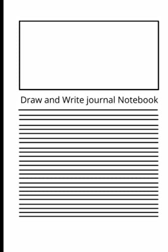 Journal of Drawing and Composition: Paper books for early age children to write and draw. Drawing and writing on tablet paper for kids.