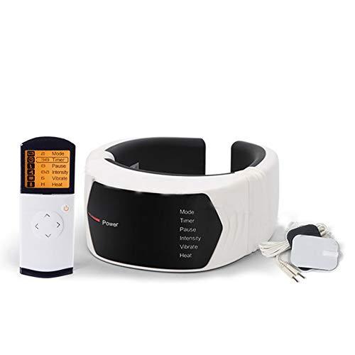ZUEN Elektro-Puls-Nackenmassagegerät Halswirbel-Impulsmassage Physiotherapeutische Akupunktur Magnetfeldtherapie Schmerzlinderung Werkzeug