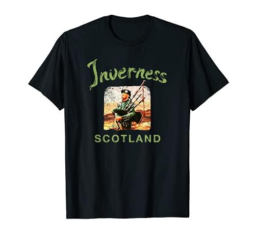 Escocia Inverness Galico escocesa Vintage Camiseta