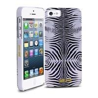 PURO JCIPC5ZEBRASIL Cover Just Cavalli per iPhone 5/5S/Se, Argento