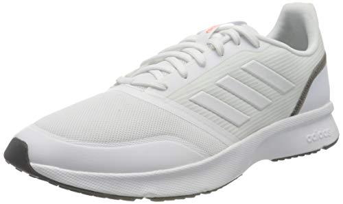 Adidas Caldera 4, Zapatillas para Correr Hombre, Negro/Gris/Valeriana, 43 1/3 EU