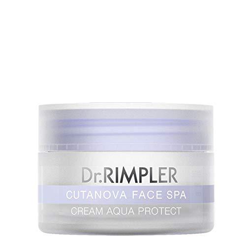 """Dr. Rimpler Crème visage anti-âge à l'extrait d'algues""""Cutanova Face Spa - Aqua Protect"""" I Crème anti-rides avec protection UV légère I Soin de jour"""