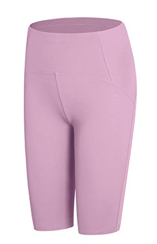 JOPHY & CO. Mallas para mujer por encima de la rodilla cortas elásticas debajo de la ropa (cód. 9822) Lavándula M
