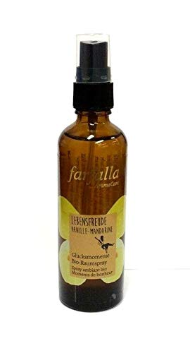 Farfalla Lebensfreude Bio-Raumspray Vanille Mandarine 75 ml