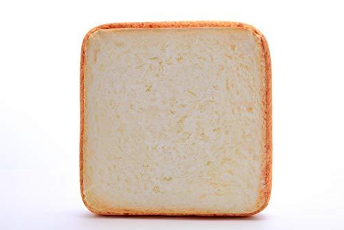 CPAZT huisdier zachte spons kussen mat toast brood vorm kat hond slaap spelen rust bed pad, 40cm x 40cm x 7cm, Geel