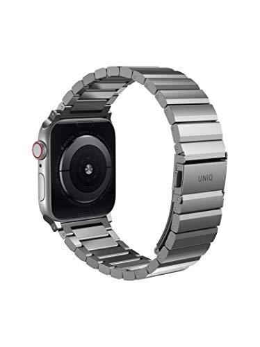 UNIQ Strova Apple Watch Edelstahl Gliederarmband 44/42mm