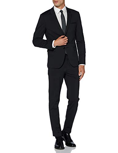 HUGO Mens Away/Hu-Go204J Suit-Dress Set, Black (1), 46