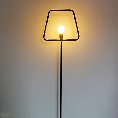 Zhengowen Lámpara de Piso Moda Minimalista Moderna Lámpara de Suelo de Hierro labrado Sala de Estar Dormitorio Salón Estudio Escritorio Lámpara de pie Lámpara de pie Lámpara de pie para Salón