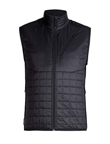 Icebreaker Herren Weste Helix Vest, Black/Jet HTHR, XXL, 103430003XXL
