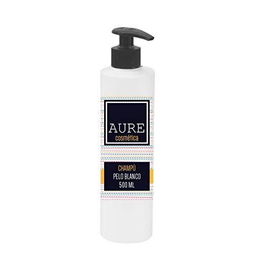Aure AU205464 Champú Pelo Blanco, 500 ml