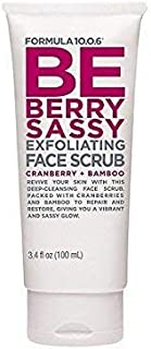 Formula 10.0.6 Be Berry Sassy Exfoliating Face Scrub 100 ml (3.4 fl oz)
