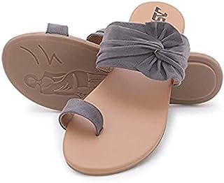 Women Fancy Flat Heel Sandal-(50202)