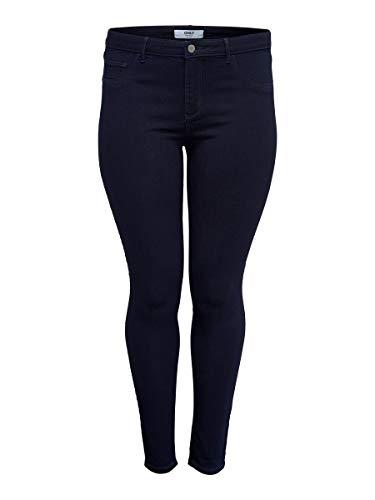 ONLY Carmakoma Female Skinny Fit Jeans Curvy CARThunder Push reg 46Dark Blue Denim