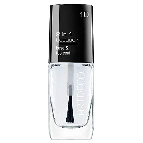 ARTDECO 2 in 1 Lacquer, Base und Top Coat