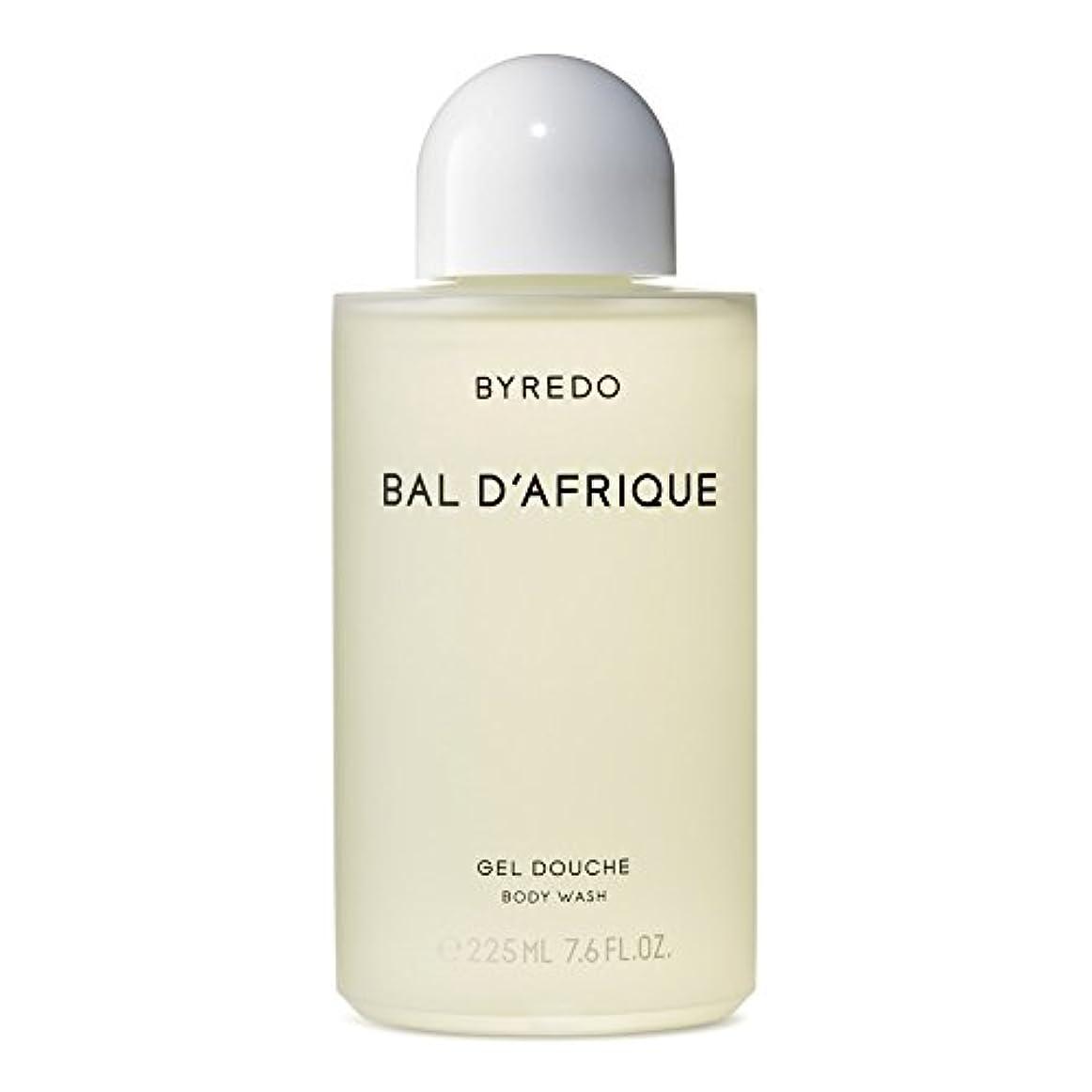 哲学的誰が統計のボディウォッシュ225ミリリットル x4 - Byredo Bal d'Afrique Body Wash 225ml (Pack of 4) [並行輸入品]