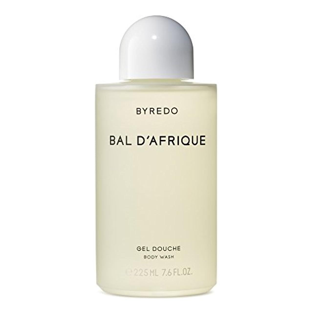 抵当パイルワンダーのボディウォッシュ225ミリリットル x4 - Byredo Bal d'Afrique Body Wash 225ml (Pack of 4) [並行輸入品]