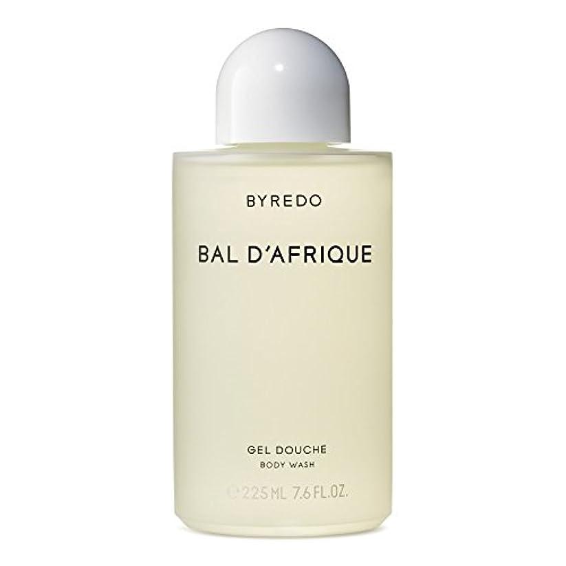 ヒゲ敬意を表して崇拝するのボディウォッシュ225ミリリットル x4 - Byredo Bal d'Afrique Body Wash 225ml (Pack of 4) [並行輸入品]