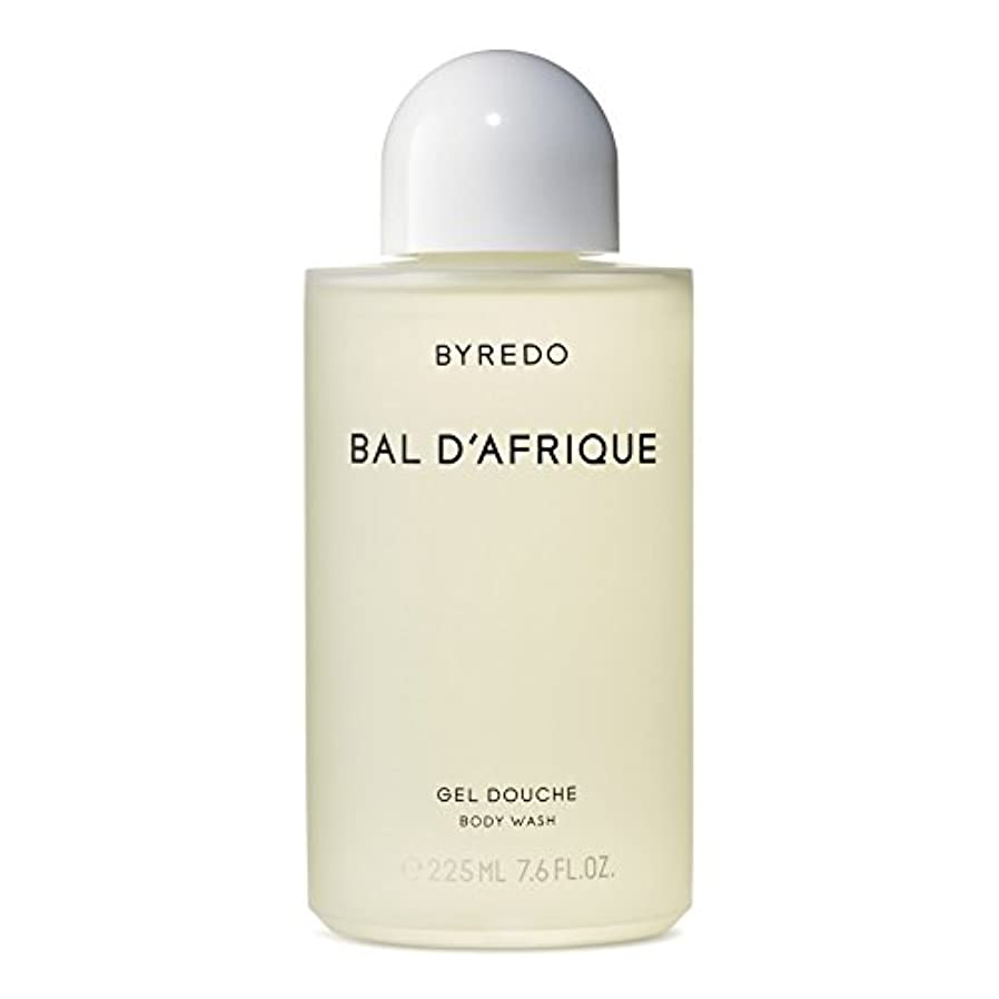 電話するダースフィドルのボディウォッシュ225ミリリットル x4 - Byredo Bal d'Afrique Body Wash 225ml (Pack of 4) [並行輸入品]
