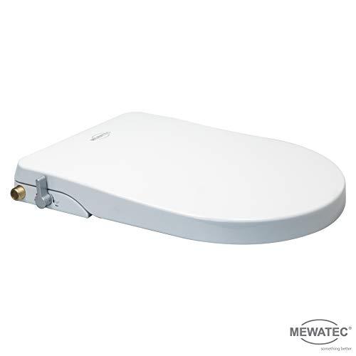 MEWATEC Marken Dusch-WC Aufsatz Nevada ohne Anschluss-Set