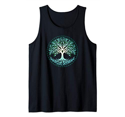 Yggdrasil, Celtic, Tree, Life, Norse, Mythology, Nature, Tank Top