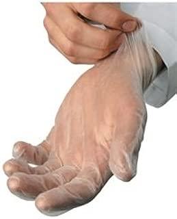 Edmer Sanitary Supply - Vinyl Gloves – Lightly Powdered - Large - 10 boxes per case
