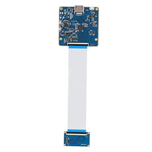 Tangxi Scheda Driver PCB Stampante 3D, Accessori Stampante 3D Scheda Driver PCB per LS055R1SX03 Modulo Adattatore Schermo di visualizzazione, Blu