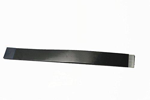 Zwarte platte zachte slanke zachte dunne dunne platte FFC-kabels voor HDMI-connectoren 20 pins B-versiepennen aan verschillende zijden van de kabel 15CM Zwart