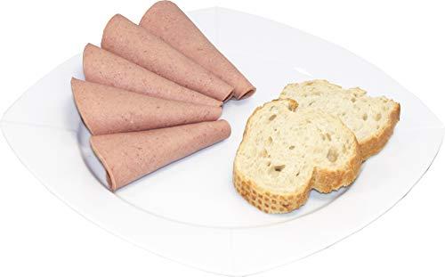Sächsischer Leberkäse 200g | Metzger Wurstaufschnitt aus der Oberlausitz | Herzhafter Leberkäse Aufschnitt fürs Brot