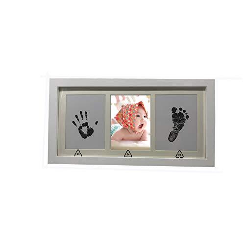 Empreintes bébé, kit d'empreintes de pieds et mains pour bebe pour liste de...
