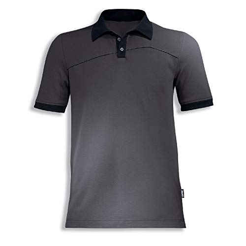 Uvex Perfexxion Herren-Arbeitsshirt - Dunkelgraues Männer-Poloshirt - Moderner Schnitt XL