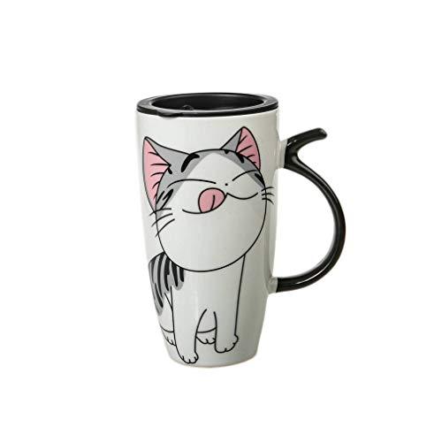 lachineuse – Taza Gigante Lucky Cat – Diseño asiático Kawaii