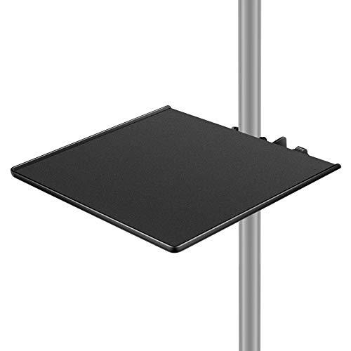 Neewer Microfon Stativ Regalklammer, 20x22CM eisen Ablage Kompatibel mit den meisten Mikrofonen Ständer für Live-Streaming, Karaoke, Aufnahme usw.