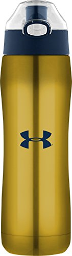 Under Armour Beyond 18?Ounce Vacuum Insulated Bottle with Flip Top Lid 18オンス ゴールド US4005ND4