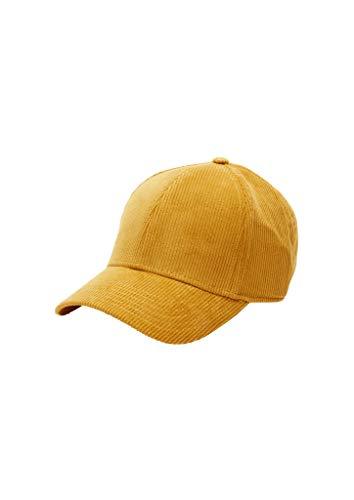 s.Oliver Damen Kappe Yellow 1