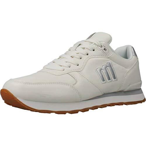 MUSTANG Damen JOGGO Leichtathletik-Schuh, Lh 1388 Blanco, 38 EU