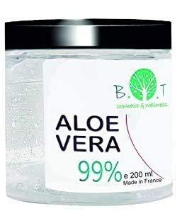 99% Gel Puro de Aloe Vera 200 ml Regenerador 100% natural