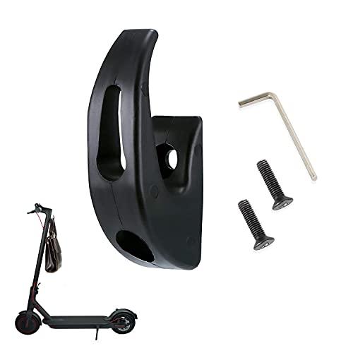 Yungeln Scooter eléctrico Gancho de Garra Frontal Gancho de Transporte de plástico Gancho de Bolsa de Almacenamiento Compatible para Xiaomi 1S/M365/Pro