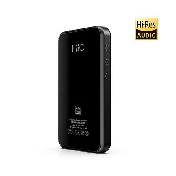 High Resolution Lossless MP3 Music Player with HiFi Bluetooth aptX HD/LDAC, USB Audio/DAC,DSD/Tidal/Spotify Support and WiFi/Air Play Full Touch Screen 5