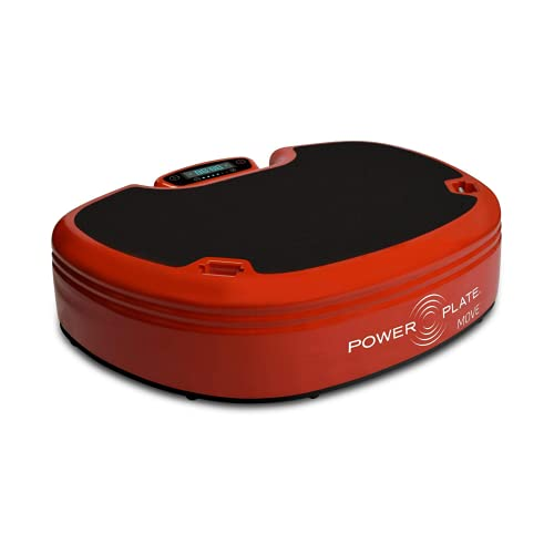 Power Plate Move, Vibrating Exercise Platform, Versatile Full Body Workout, Red