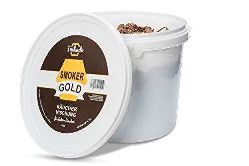 Imkado Smokergold - Imker-Tabak, Rauchstoff, Bienen-Tabak, Mix für Imker Smoker - Räuchermischung aus dem Imkereibedarf (2000g)